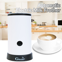 Automatische Cappuccino Kaffee Maker Elektrische Milch Blase Maschine Milchaufschäumer Schäumer Tasse Wärme Latte Heißer Schaum Maker Wärmer-in Milchaufschäumer aus Haushaltsgeräte bei