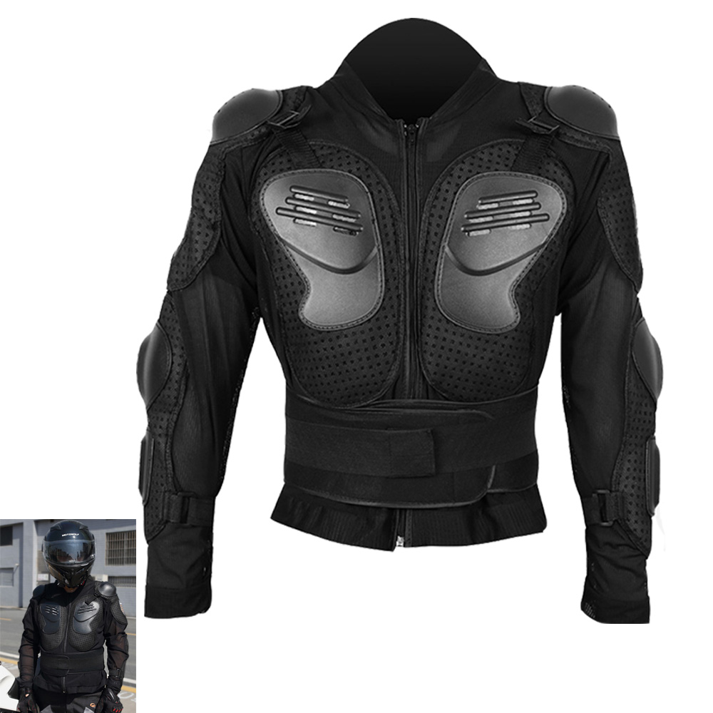 XL Motorcycle New Black Full Body Armor Protection