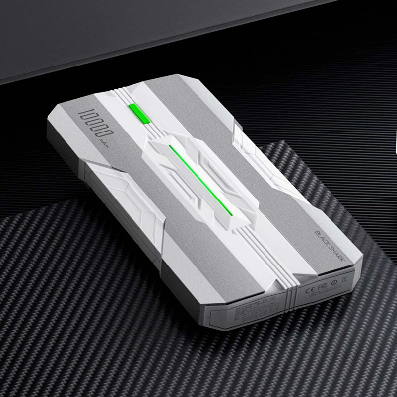 Original Xiaomi Black Shark two-way fast charging power bank One input and three output 18W two-way fast charge Armor design
