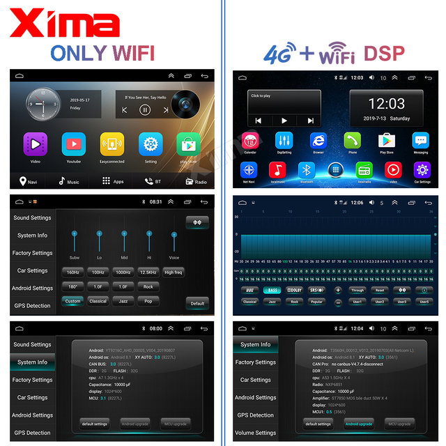 Android 9.0 Car radio GPS multimedia player for Volkswagen Skoda Octavia golf 5 6 touran passat B6 polo tiguan jetta Bora rapid