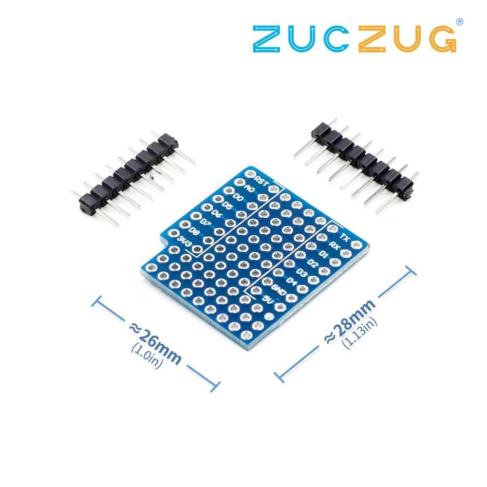 ProtoBoard Shield Double Sided WeMos D1 Mini perf Board Compatible For Arduino