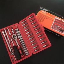 Tool for Repairing Phones Electricians Set Box Car Repair Screwdriver of Heads Socket Mechanics Kits Clamp