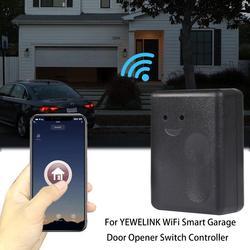 Dla YEWELINK WiFi inteligentny pilot do drzwi garażowych przełącznik sterowanie|Piloty do drzwi|   -