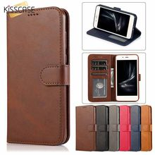 KISSCASE Leather Flip Book Case For Redmi Note7 Pro Cover 6PRO Note7 Note5 For Xiaomi MI A2 Case A2 Lite 8 9 Business Phone Bag(China)