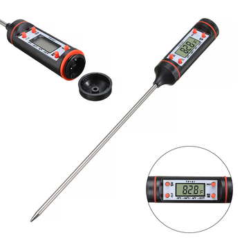 BBQ Meat Grill Thermometer Probe Instant Read Cooking Thermometer -50 To +300 Degree Electronic Temperature Meter Gauge фото