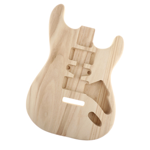 Image 5 - Sycamore Wood Guitar Body Unfinished for ST Guitar DIY Material Luthier Tool