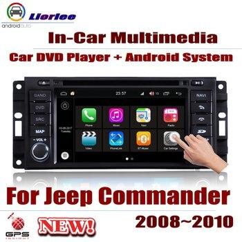 Reproductor Multimedia de DVD para coche, para Jeep Commander 2006 ~ 2011,...