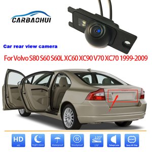 Câmera de visão traseira do carro para volvo s80 s60 s60l xc60 xc90 v70 xc70 1999-2009 câmera de estacionamento reversa completo hd sony alta qualidade