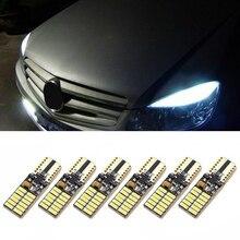 Bulb Lighting Car-Light-Bulbs Mercedes W204 Dc12-24v-Accessories T10 Canbus White 6pcs