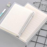 Cuaderno con espiral, cuadrícula en blanco, papel A5 B5, suministros para escuela y oficina, Bloc de notas, Agenda, Cuadernos para uso diario, papelería