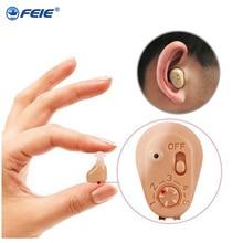 Kopfhörer Deaf Recharegeable Anhörung Aide USB Ladegerät Hören Gerät unsichtbar ohr maschine beste verkauf in amerika S 219