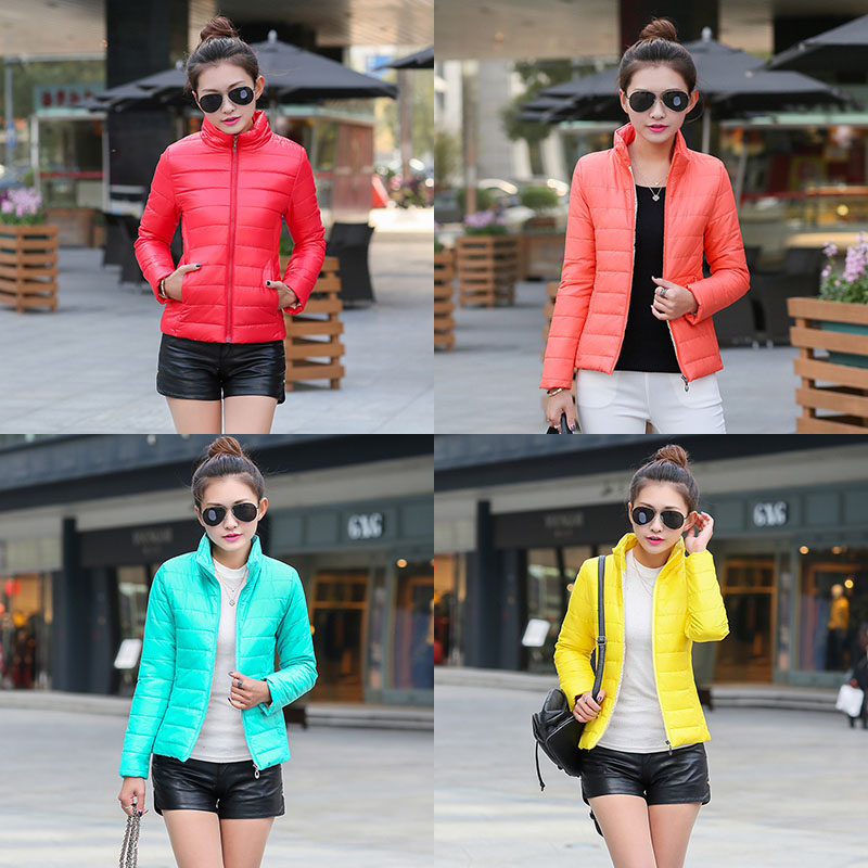 Cheap Good Quality!Women Slim Jacket Plus Size 3XL 2020 Winter Spring Autumn Female Coats Parka Fashion Short Style Stand Collar