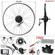 Yose power ebike kit roda do motor 36v 350w 28 28 (700c) cassete traseira sem escova hub motor kit de conversão bicicleta elétrica
