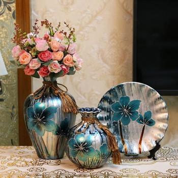 3 sztuk zestaw europa ceramiczny wazon kreatywna porcelana artykuły wyposażenia wnętrz Tabletop rękodzieło akcesoria do dekoracji wnętrz tanie i dobre opinie Jamal s CN (pochodzenie) Nowoczesne Ceramiki i porcelany Blat wazon A-0689 Refer to the details As the picture show Wedding home decoration