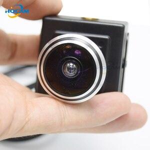 Камера видеонаблюдения HQCAM, 5 Мп, 3 Мп, 2 МП, аудиосвязь, слот для tf-карты, мини ip-камера, домашняя камера видеонаблюдения, камера кошачий глаз, о...