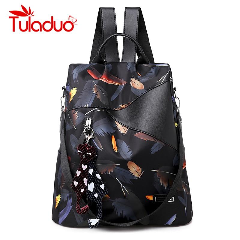 Fashion Anti-theft Women Backpacks High Qulity Oxford Women Backpack Brand Large Capacity Multi-pocket Women Backpacks 2019