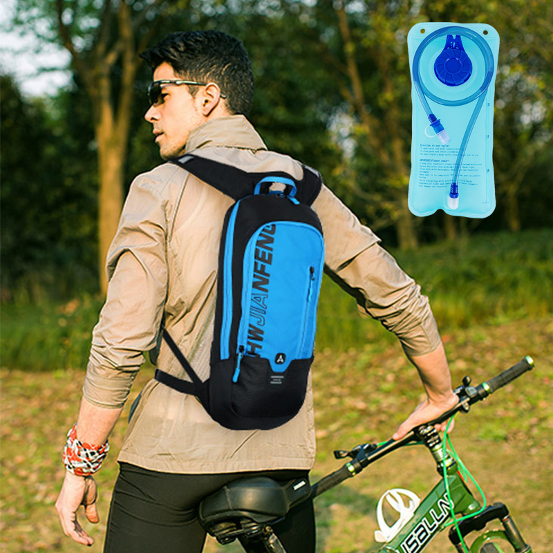 Outdoor Running Cycling Backpack With 2L Bladder Water Bag Sports Camping Hiking Hydration Backpack Running Cycling Backpack