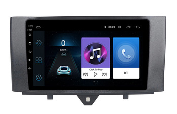 9 octa core android 10 Car GPS radio Navigation for Smart Fortwo 2011-2015 with 4G/Wifi DVR OBD mirror link 1080P image