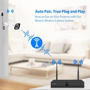 Image 2 - Zoohi CCTV מערכת אלחוטי מעקב מערכת ערכת 1080P 2MP אבטחת בית מצלמה מערכת חיצוני WIFI מצלמה אבטחת מערכת IR