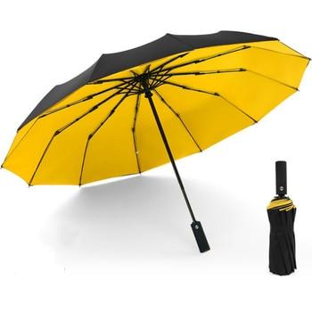 Windproof Double Automatic Folding Umbrella Female Male 12 Bone Car Luxury Large Business Umbrellas Men Rain Women Gift Parasol