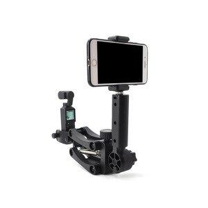 Image 3 - Câmera de bolso handheld suporte de absorção de choque suporte de vídeo estabilizador de montagem clipe de telefone para fimi palm câmera cardan acessórios