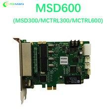 Msd600 cor cheia controlador de tela led síncrono envio cartão suporte/nova envio cartão msd300 mctrl300 mctrl600 660