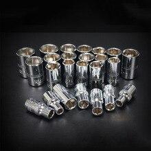 Converter-Socket Wrench 1/4inch Adapters Ratchet Car-Repair-Tools Spanner 1pcs Short