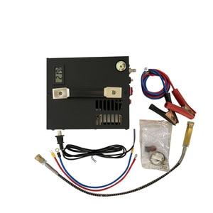 Image 2 - Compresseur dair portable pcp, avec transformateur pour armes à air comprimé, 12V/220V