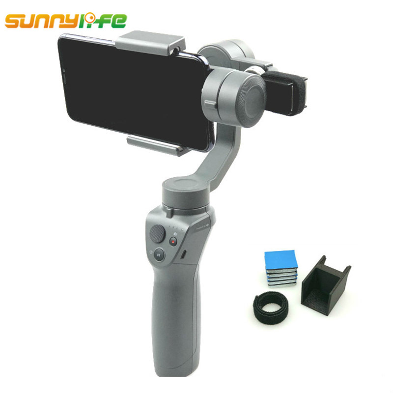 For DJI OSMO Mobile 2 Handheld Gimbal Stabilizer Removable Counterweight Adapter Balanced Moment Anamorphic Lens For DJI OSMO 2