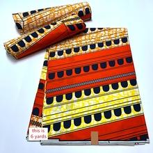 Africain druk woskowy materiał pomarańczowy kwiat afrykańska tkanina Ankara tkanina 2021 nowy wysokiej jakości tkanina Ankara 100 bawełna wosk Tissu tanie tanio ZZWXF wyszywana CN (pochodzenie) Odporne na ścieranie Tkanina brokatowa warp 120cm Inna tkanina Batik Bez wzorków Igłowane