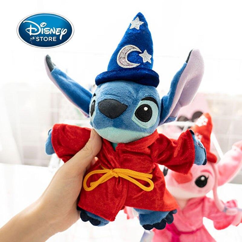 Disney 25CM Cartoon Anime Zauberer Stich Lilo & Stitch Plüsch Spielzeug Puppe Kinder Stofftier Für Baby Geburtstag Kinder kid Geschenke