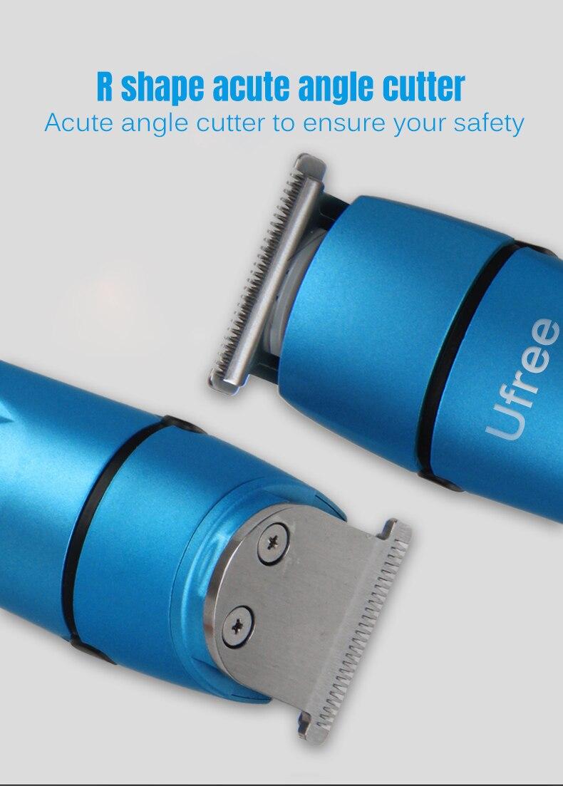 Машинка для стрижки волос для мужчин многофункциональная электрическая нажимная бритва, нос триммер для волос 2 часа полностью заряженная машинка для стрижки волос SU111