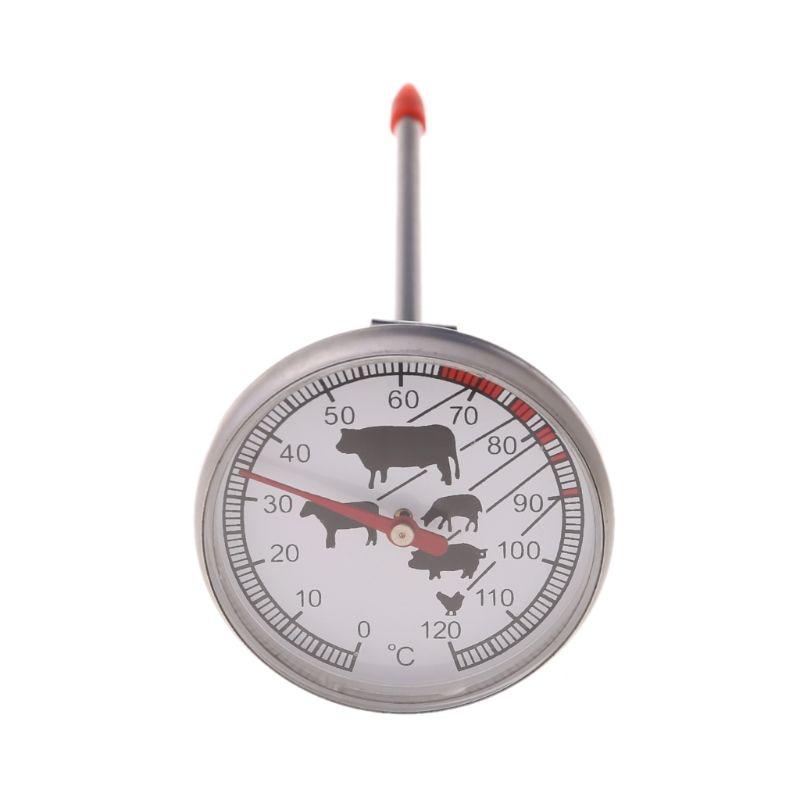 Нержавеющая сталь мгновенное считывание зонда термометр барбекю еда приготовления измерительный прибор для мяса