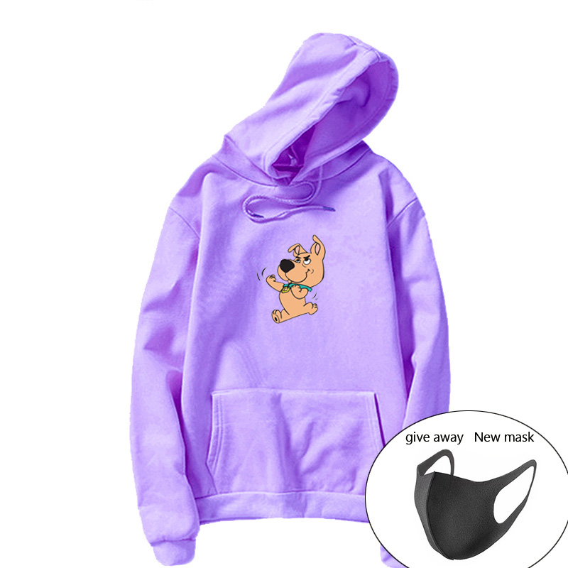 Scrappy Doo Hoodie Full Sleeve Cute Dog Print Sweatshirt Kawaii Hoodie Female Kung  Scrappy Dappy Doo Sudaderas Mujer