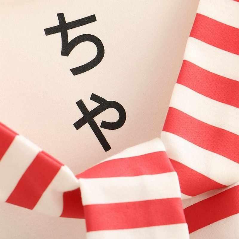달콤한 일본 스타일 귀여운 긴 소매 후드 여성 탑 만화 고양이 인쇄 학생 스웨터 2020 새로운 봄 선원 칼라 까마귀