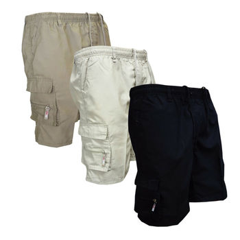 цена на 2020 HOT Selling Solid Men's Summer Cotton Shorts Sports Casual Army Combat Cargo Shorts Pants Trousers High Quality