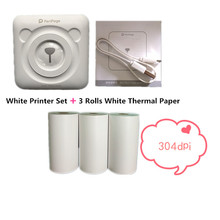 GOOJPRT 304dpi High Resolution A6 Peripage Pocket Photo Printer Mobile Phone Android and iOS Portable Inkless Thermal Printer cheap Wireless Bluetooth 58mm manual 4ppm 100-240V For Home Use None Universal ticket printer 1 5kg 300dpi Shop s Three Guarantees