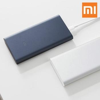 Original Xiaomi Mi Power Bank 3 18W 10000mAh Quick Charge Dual-USB Aluminium Powerbank Fast Charger Portable External Battery 20000 mah power bank portable charger dual usb fast charge