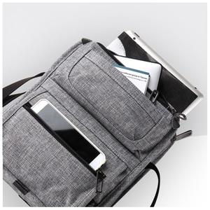 Image 4 - カイタブレットメッセンジャーショルダーバッグマルチポケットクロスボディミニカジュアルランドセルティーンエイジャーのための男の子ハンドバッグ男性ファッション
