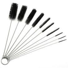 10 шт/компл Аэрограф чистящая щетка игла для рта пистолет распылитель