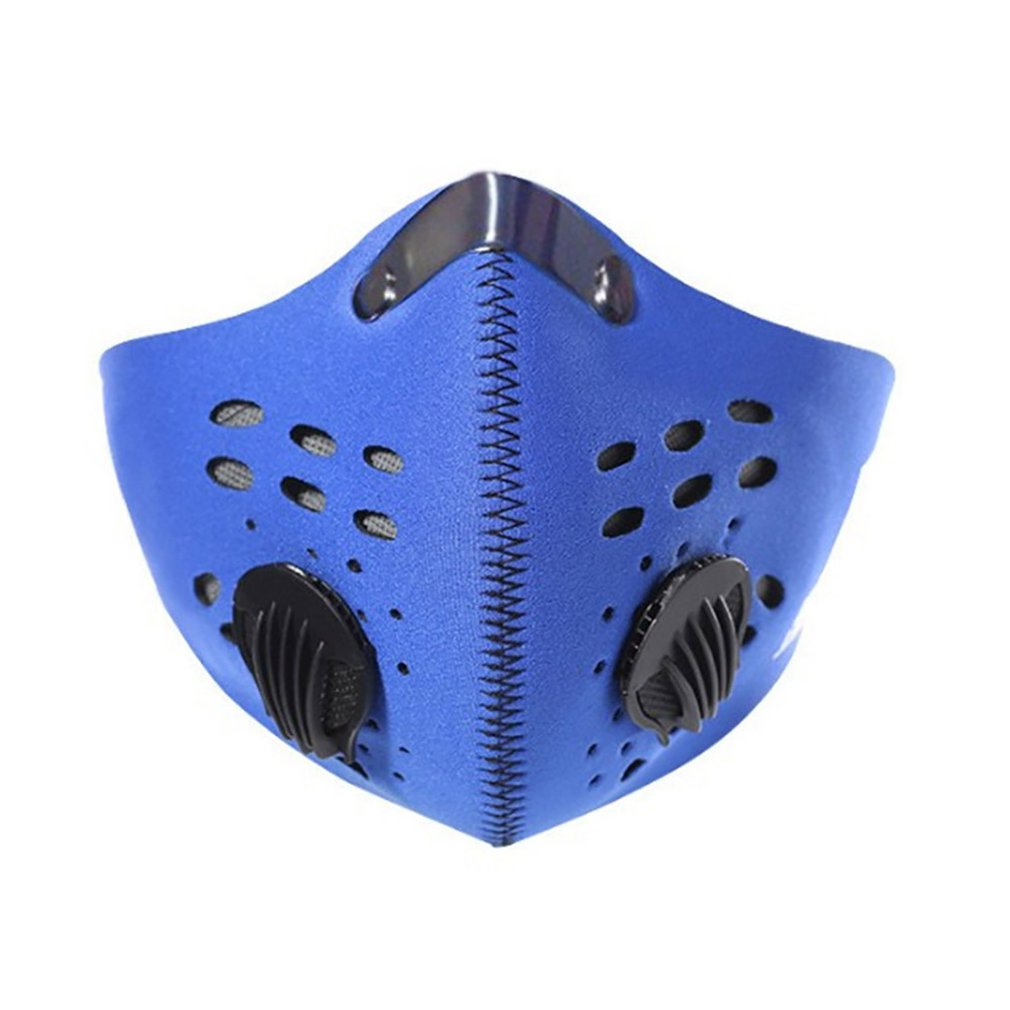 PM2.5 Dust Masks - Respirator Mask With Breath Valve Anti-Dust Anti Pollution Face Mouth Mask Breathable For Men Women