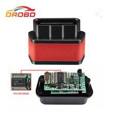 Herramienta de diagnóstico automotriz KW903 mini ELM327 3,0, autoescáner OBD2 con Bluetooth, lector de código de fallas de motor