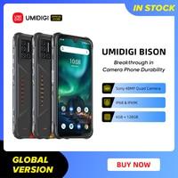 UMIDIGI BISON IP68/IP69K Waterproof Rugged Phone 48MP Matrix Quad Camera 6.3 1