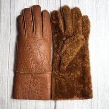 Новинка 2021 зимние женские перчатки 100% теплые классические