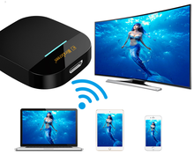 Mirascreen 2.4g/5g miracast qualquer elenco sem fio dlna airplay hdmi tv vara wi-fi dongle receptor para ios android computador portátil(China)