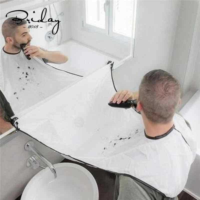 Męski fartuch do golenia broda kolektor łatwe czyszczenie łazienki przybory do pielęgnacji włosów prezent dla mężczyzn