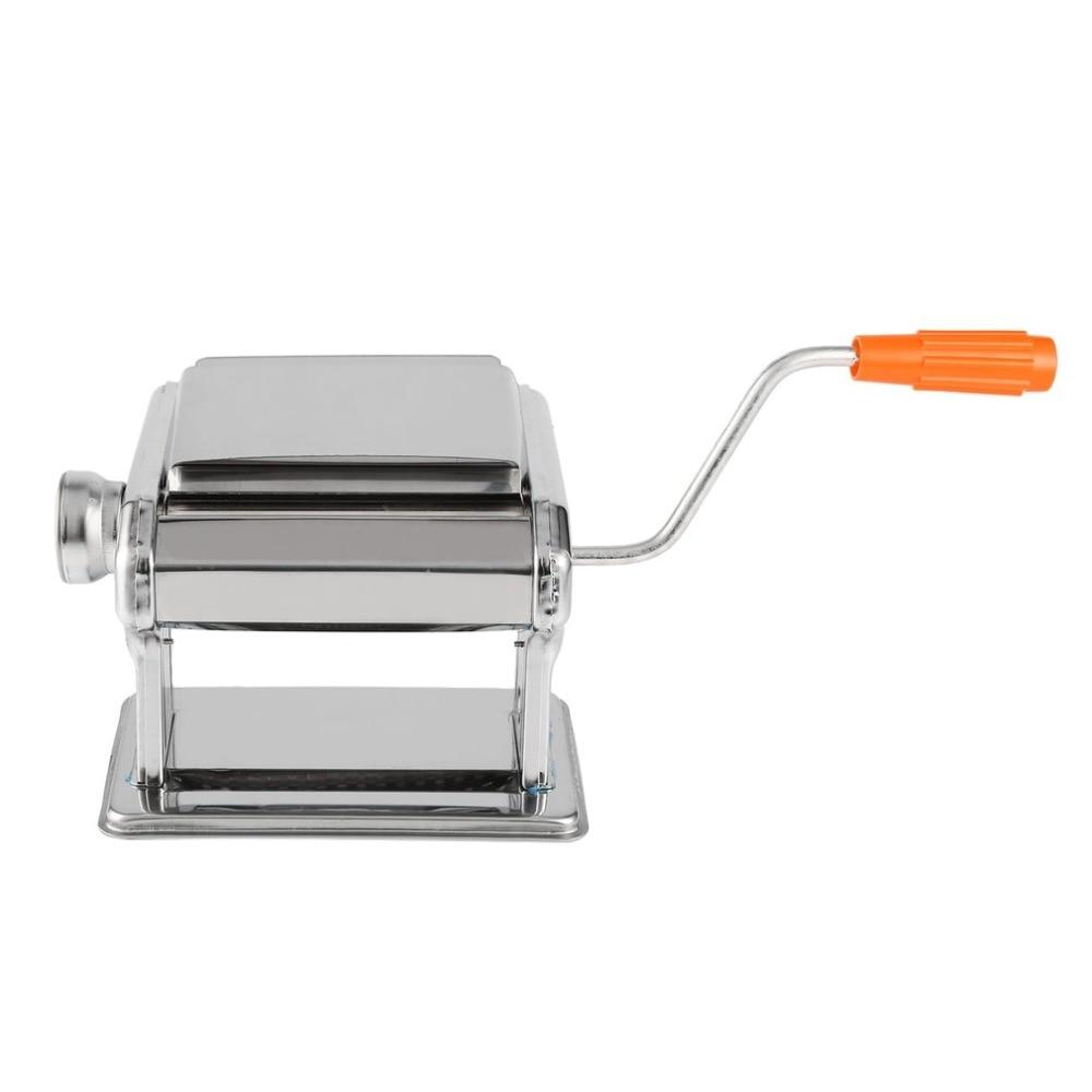 Stainless Steel Manual Noodle Press Machine Household Multifunctional Dumplings Wonton Skin Rolling Machine With Hand Crank