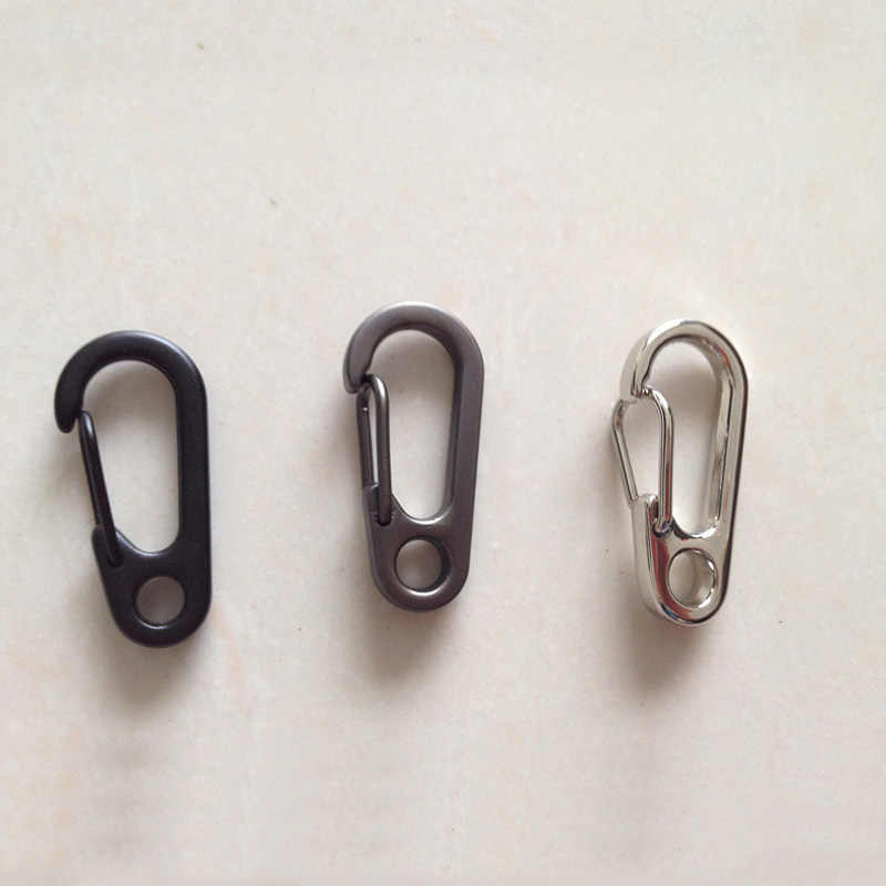 10pcs Camping Hiking Round Carabiners Clips Outdoor Small Tools Accessories