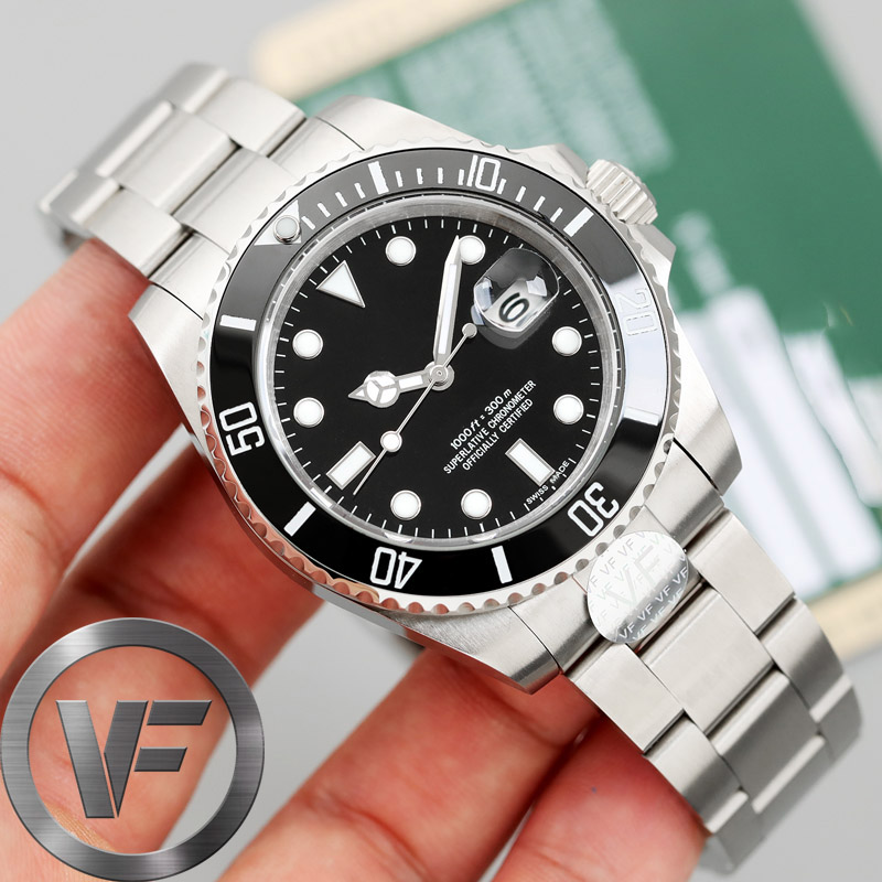 Luxury Brand Ceramic Bezel High End Mens AAA Mechanical SS Automatic Movement Men Watch Designer Fashion Watches Wristwatches(China)