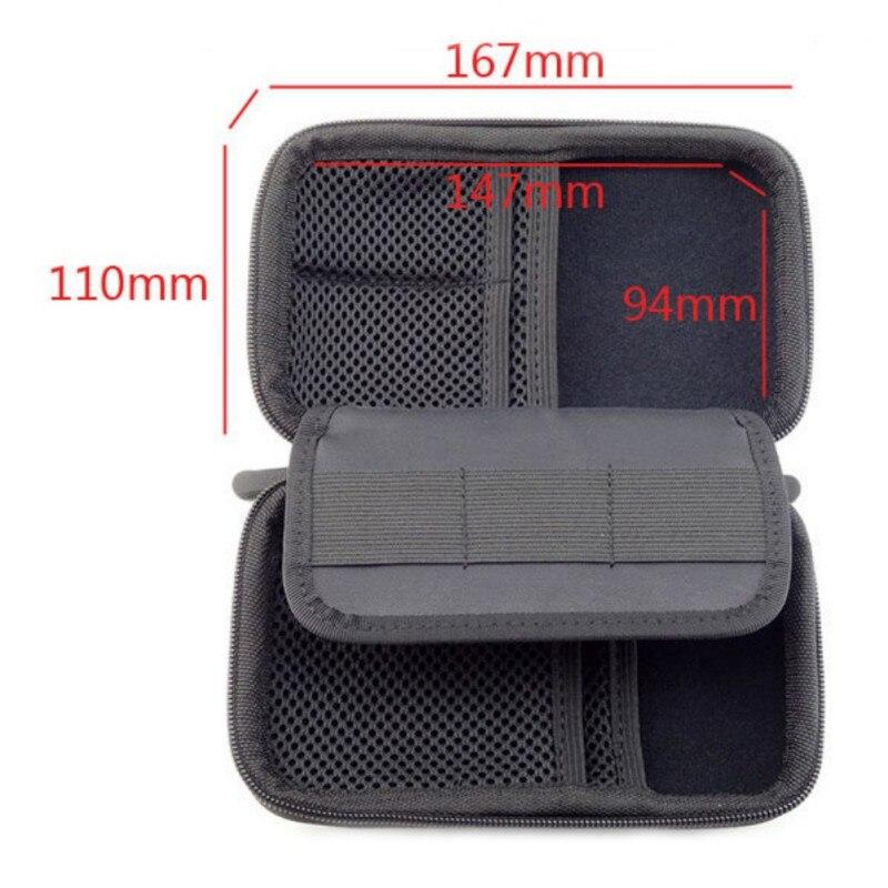 Portable Mini Electronic Product Storage Bags Anti-Shock Digital Accessories Hard Drive Organizer Storage Bag Pouch ZA